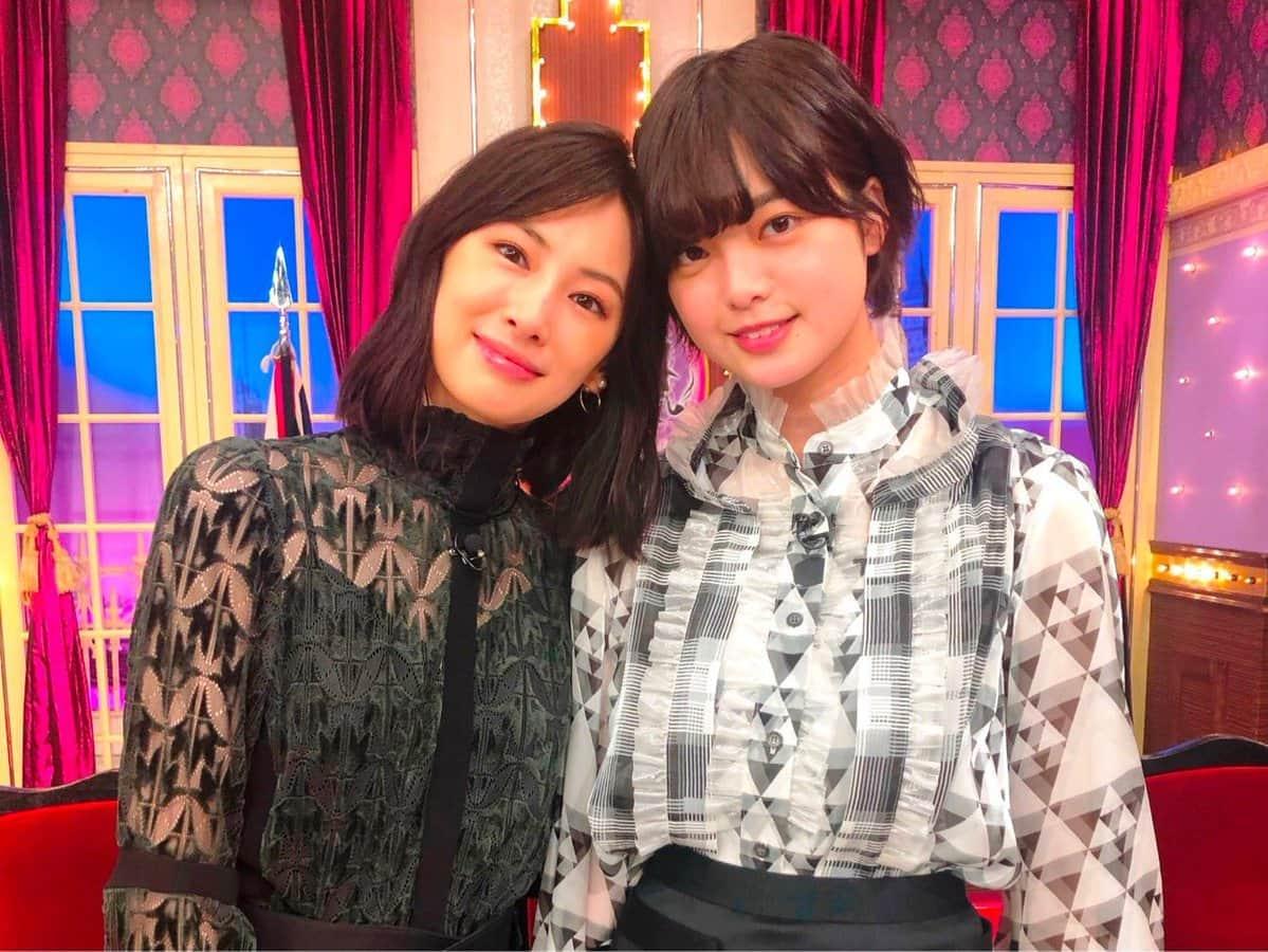 北川景子さんと平手友梨奈さん